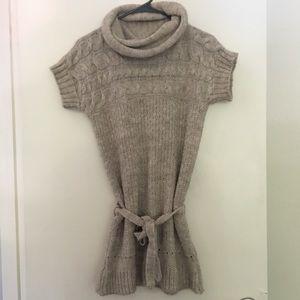Zara knit beige sweater size M